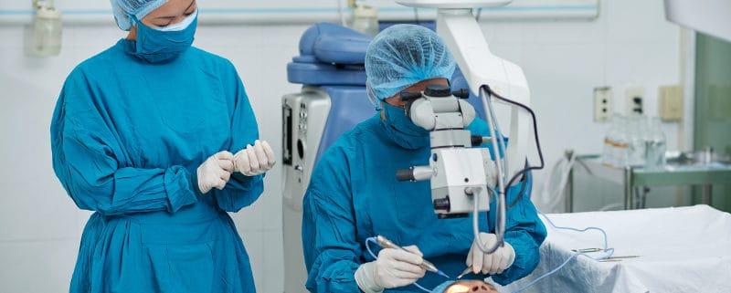 катаракта и хирургичното й лечение